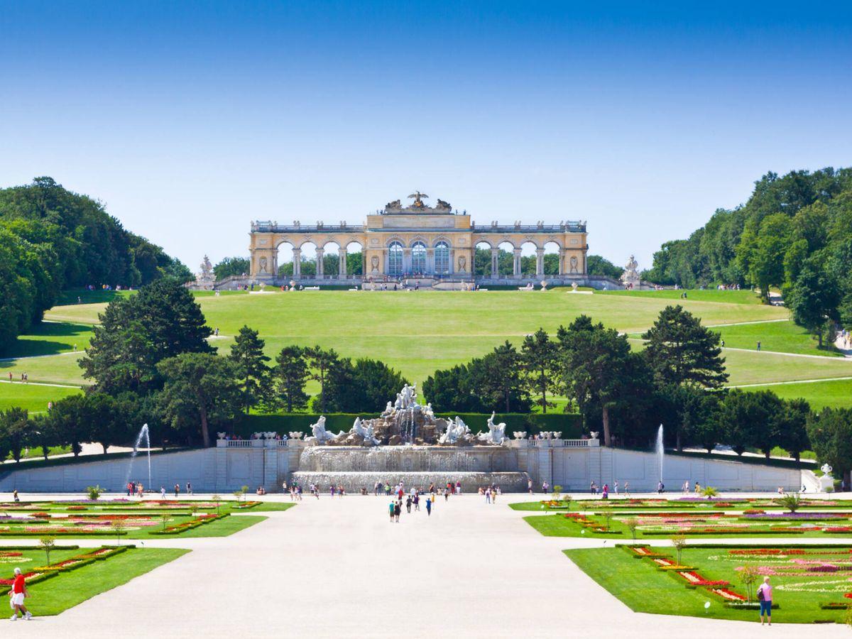 Foto: Jardines del Palacio de Schonbrunn (Fuente: iStock)