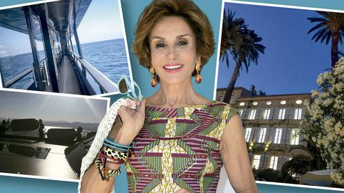 Las vacaciones de lujo de Naty Abascal en Saint Tropez