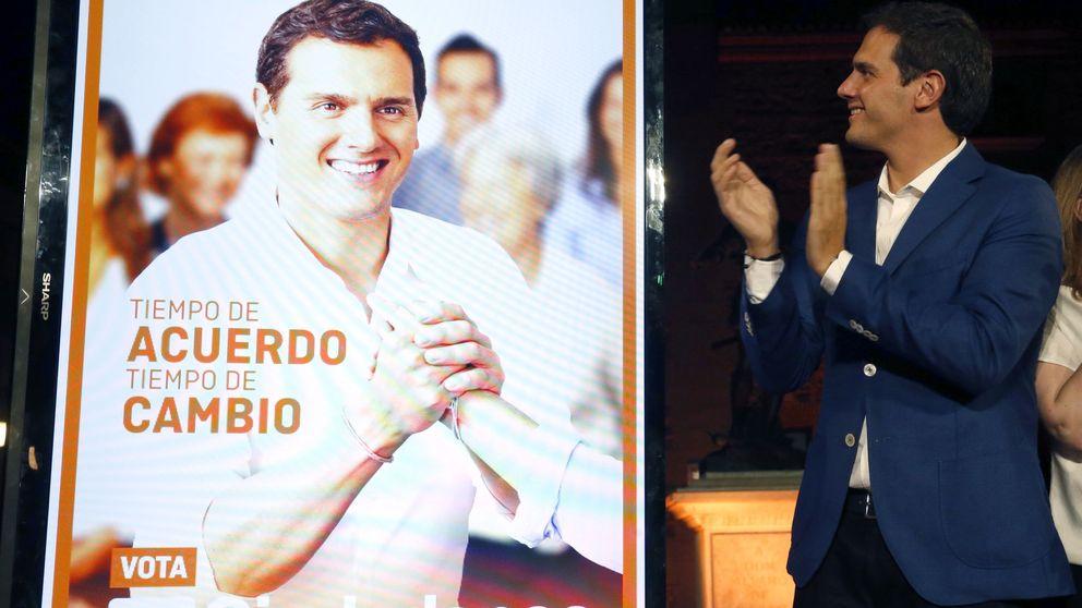 Rivera reformula la campaña y plantea la 'cuestión Rajoy'