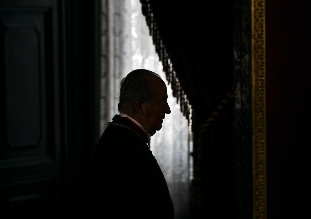 Foto: El Rey Juan Carlos, en uno de sus últimos actos como Jefe de Estado. (Reuters)