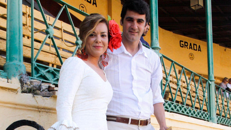 María José Campanario, junto a Jesulín de Ubrique. (Gtres)
