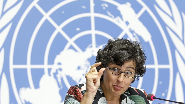 Arancha González Laya, nueva ministra de Exteriores, el 4 de octubre de 2017 en Ginebra, Suiza. (EFE)