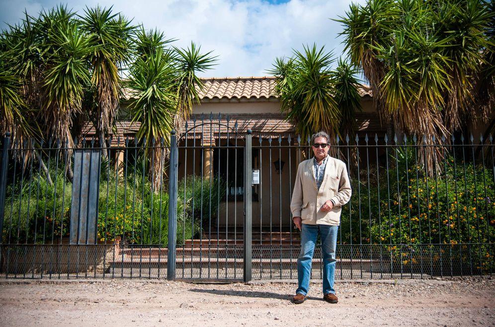 Foto: Juan Carlos Montero, presidente de la Asociación de Vecinos Las Pitas