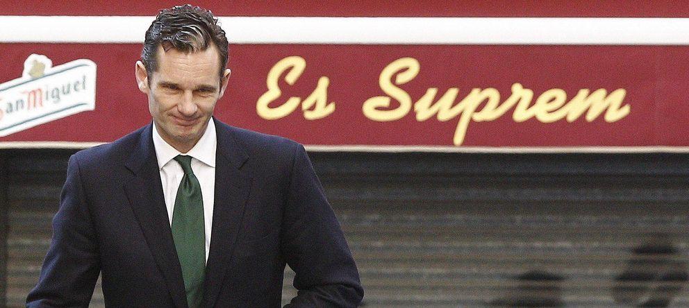 Foto: Urdangarin llega a los juzgados de Palma. (EFE)
