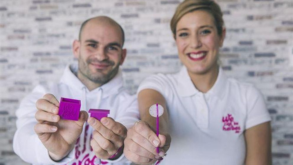 Un 'chupa-chup' de hielo para los pacientes con quimioterapia