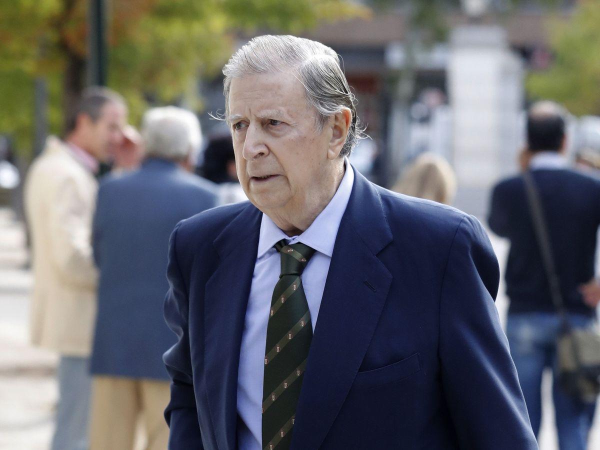 Foto: El marqués de Cubas, en una imagen de archivo. (EFE)