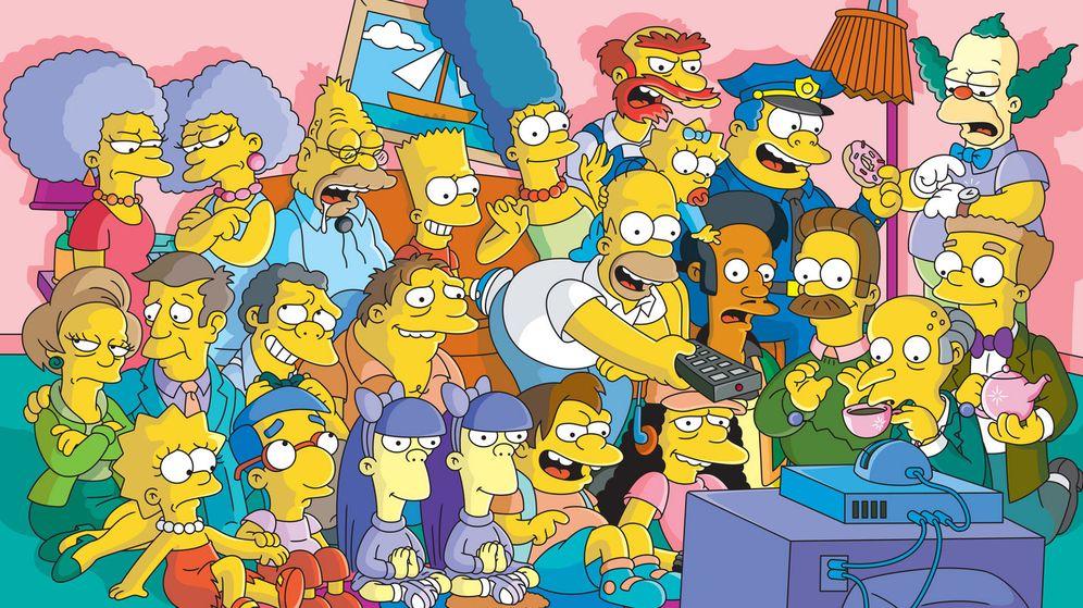Foto: Algunos de los personajes más famosos de 'Los Simpson'