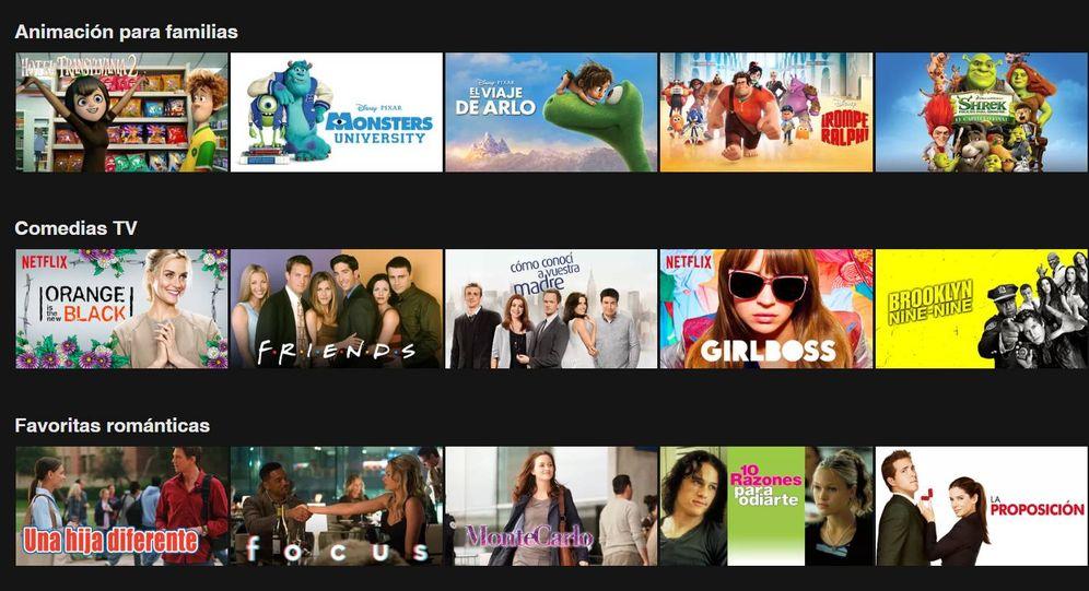 Foto: Buscar en las categorías de Netflix sin tener claro qué ver es un suicidio