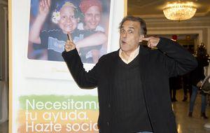 Los famosos ayudan a Paco Arango contra el cáncer infantil