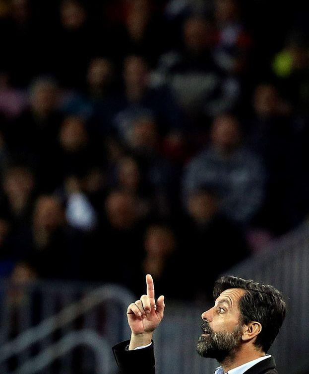 Foto: Quique Sánchez Flores, siendo entrenador del Espanyol. (EFE)
