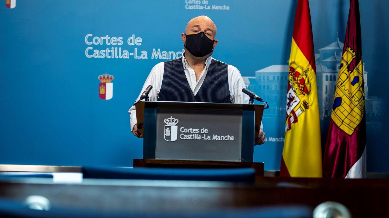 El presidente del grupo parlamentario de Ciudadanos en las Cortes de Castilla-La Mancha, Alejandro Ruiz. (EFE)