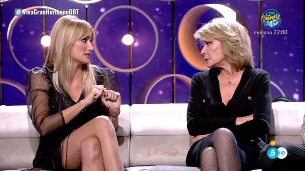 Foto: Alba Carrillo y Mila Ximénez, en 'GH VIP 7'. (Telecinco)