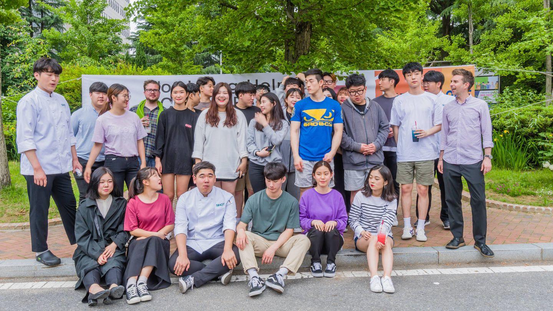 Alumnos en Daejeon, Corea del Sur. (iStock)