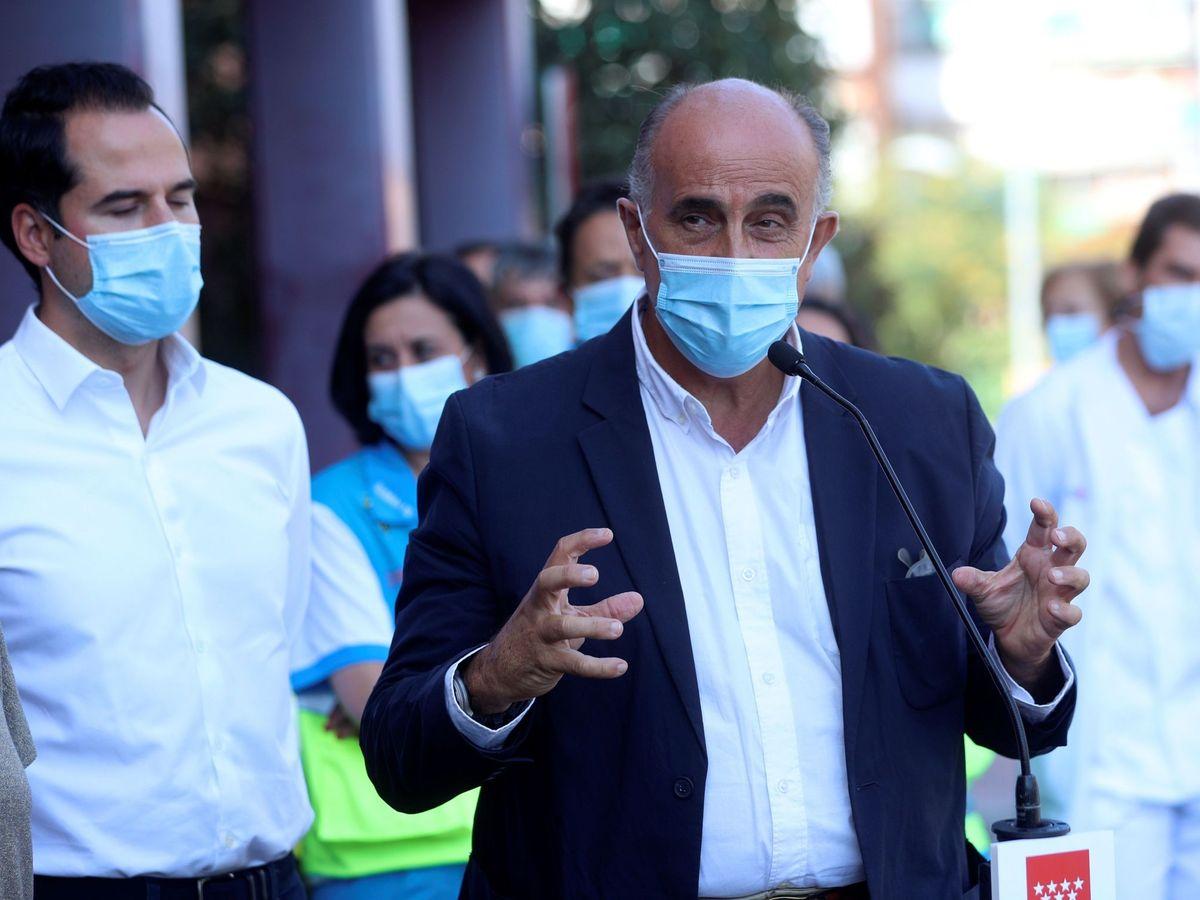 Foto: El viceconsejero de Salud Pública y Plan Covid-19 de la Comunidad de Madrid, Antonio Zapatero. (EFE)