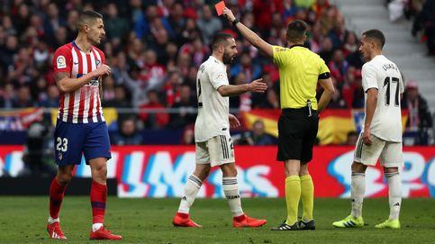 El Real Madrid gana al Atlético un derbi explosivo y de mecha corta