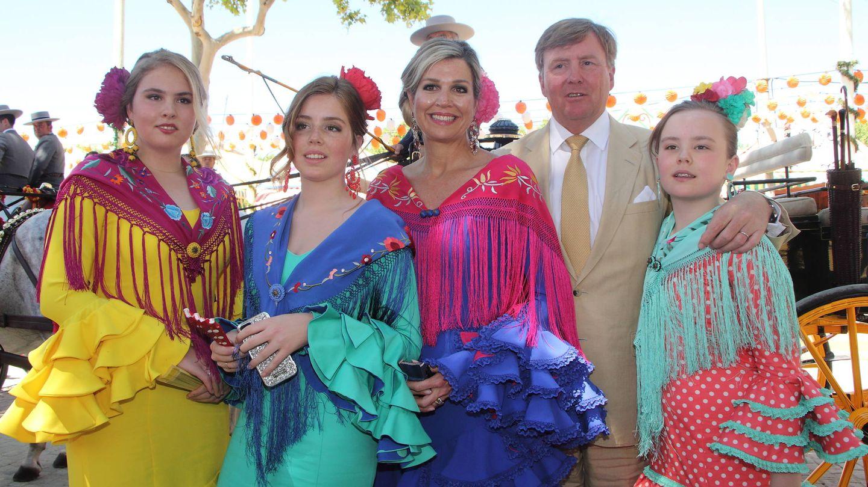 La familia real holandesa al completo en Sevilla. (Lagencia Grosby)