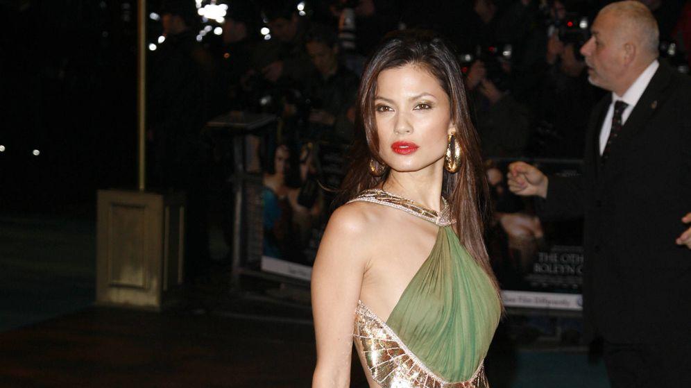 Foto: La actriz Natassia Malthe en una imagen de archivo. (Gtres)