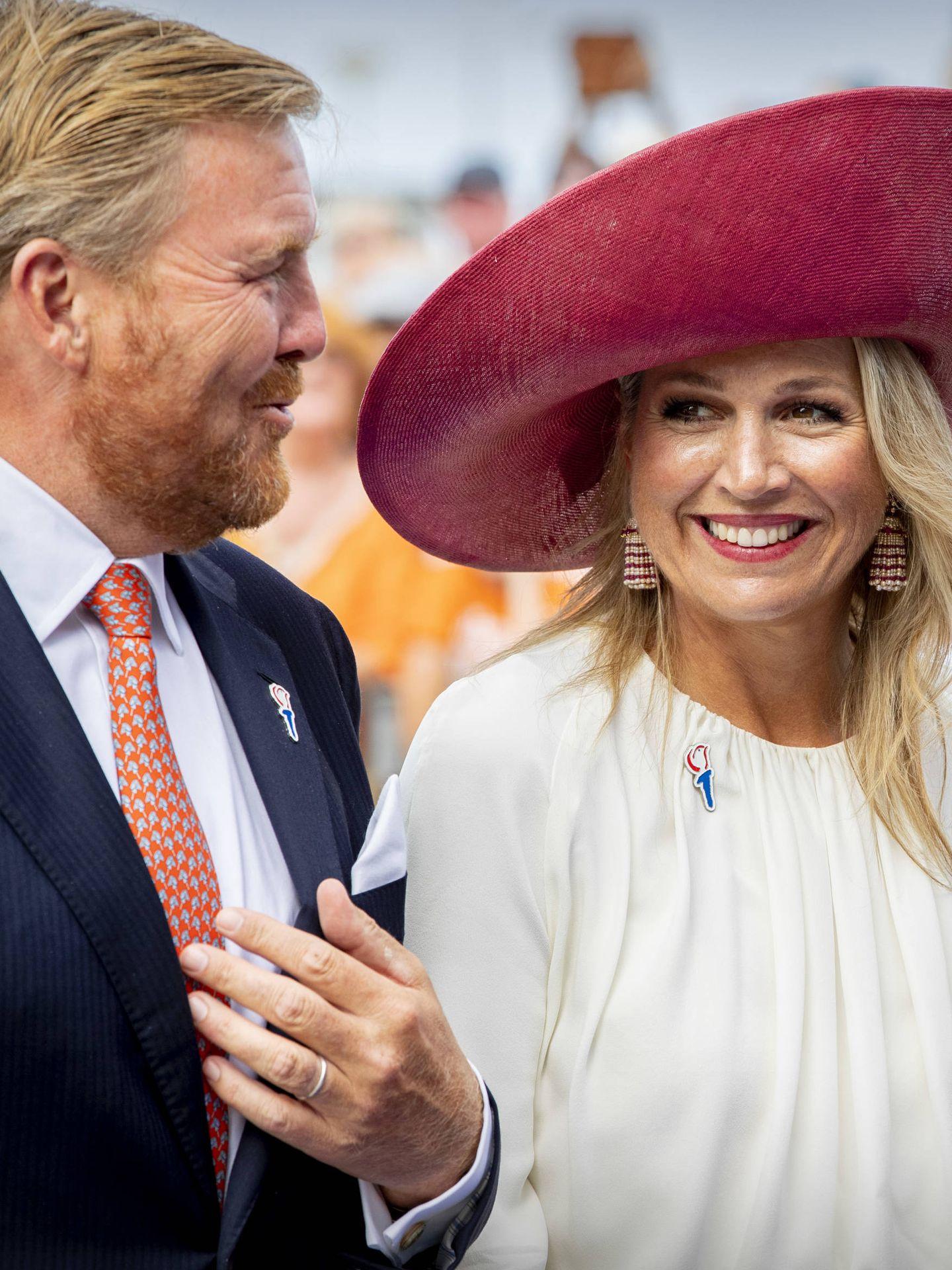 Guillermo y Máxima de Holanda, en una imagen reciente. (Getty)