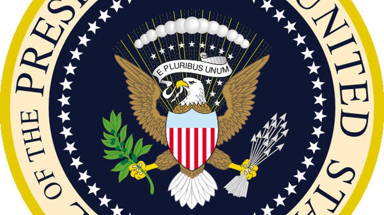 Escudo oficial de los Estados Unidos.