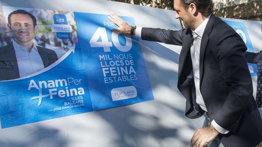 Foto: El presidente del PP balear, José Ramón Bauzá. (EFE)