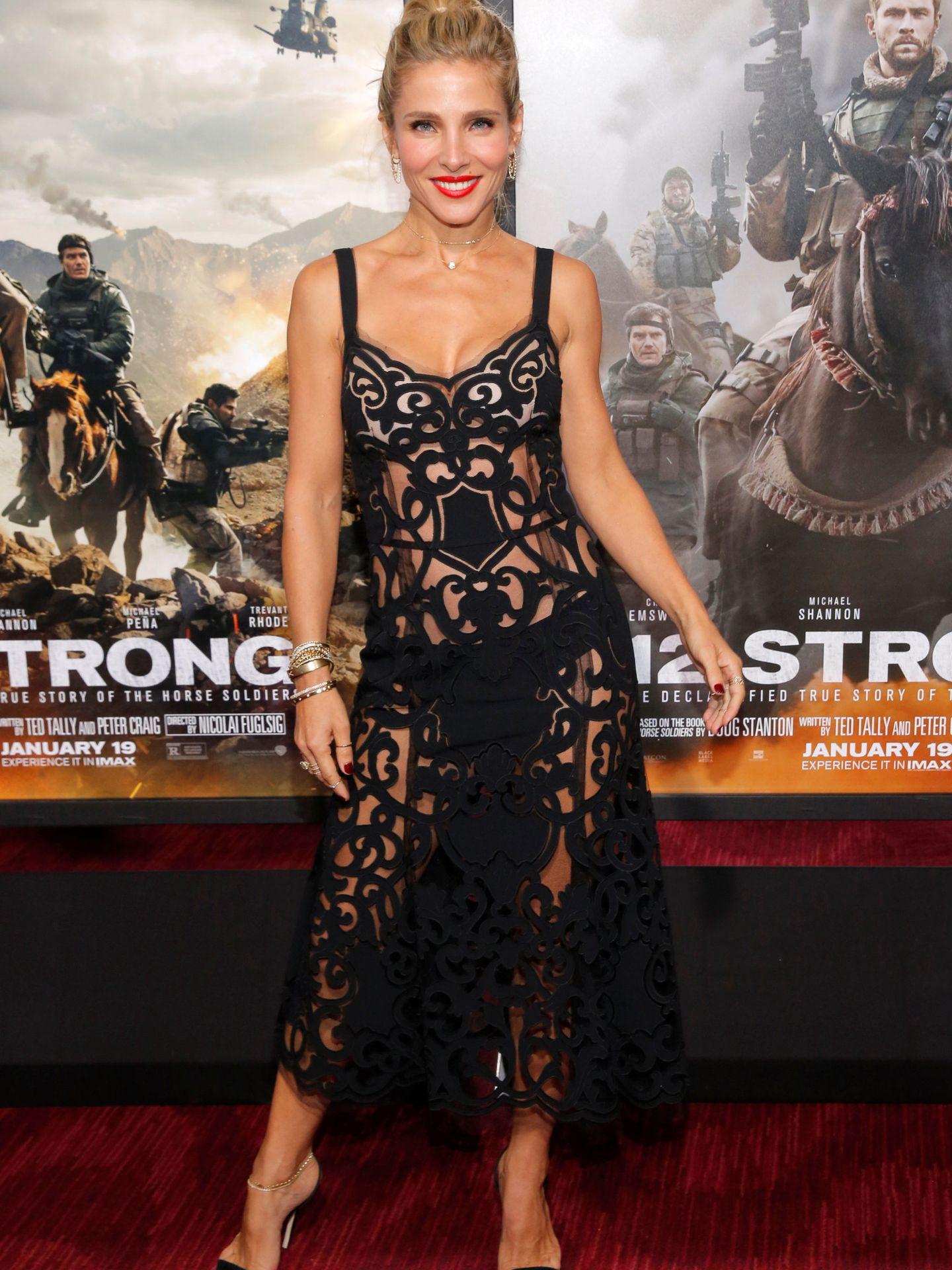 Elsa Pataky, durante una première. (Reuters)