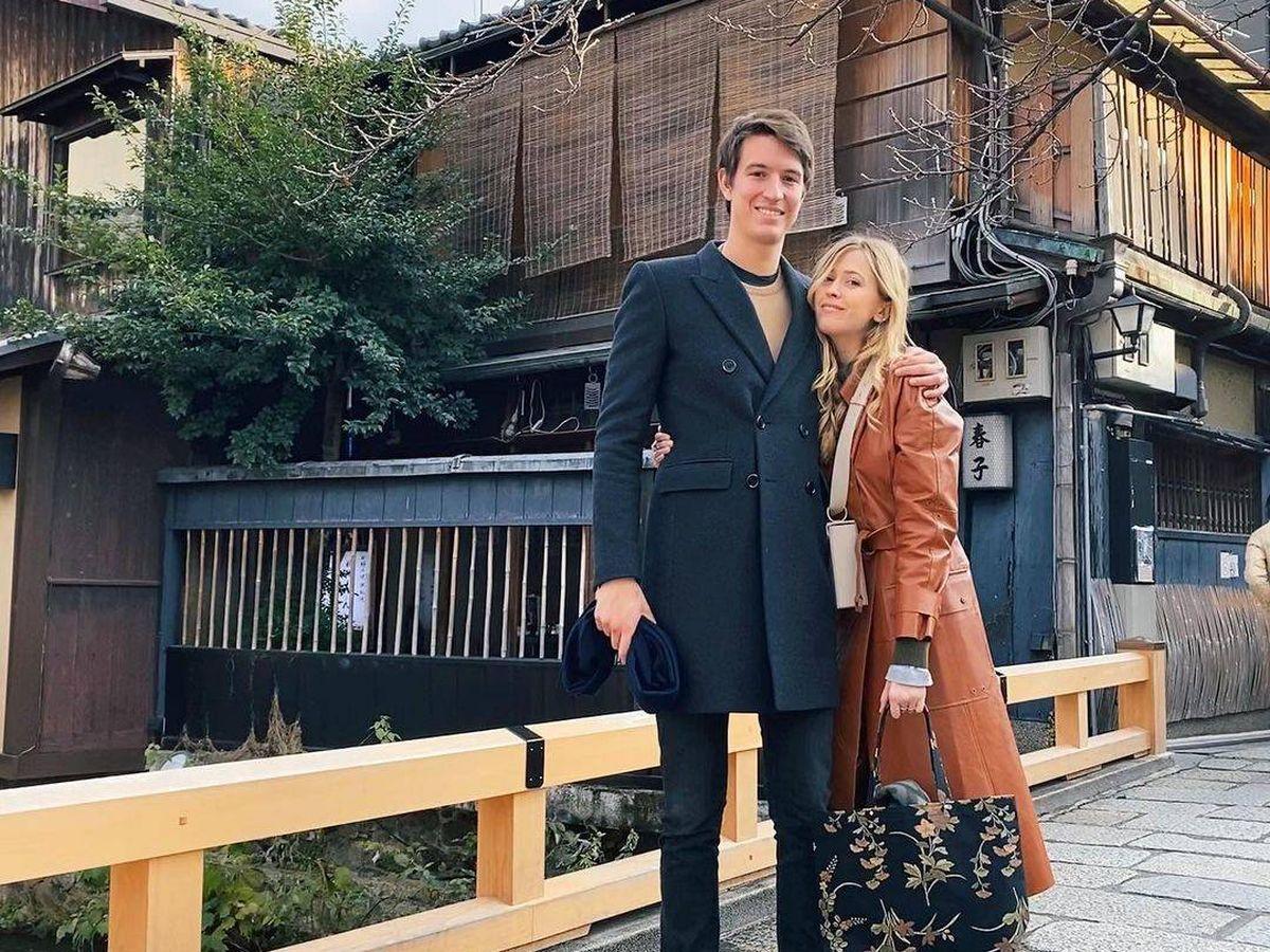 Foto: La pareja, en una imagen de sus redes sociales.