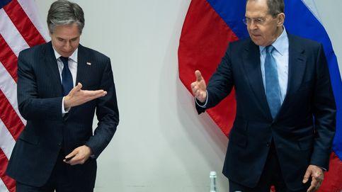Blinken avisa a Lavrov que si Rusia actúa de forma agresiva EEUU responderá