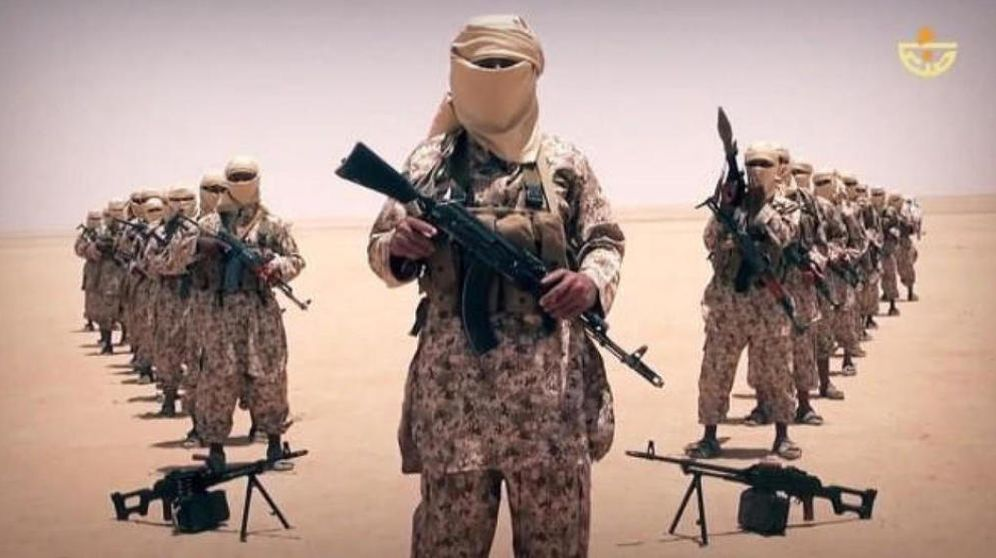 Foto: Imagen de milicianos del Estado Islámico difundida por el ISIS con fines propagandísticos.