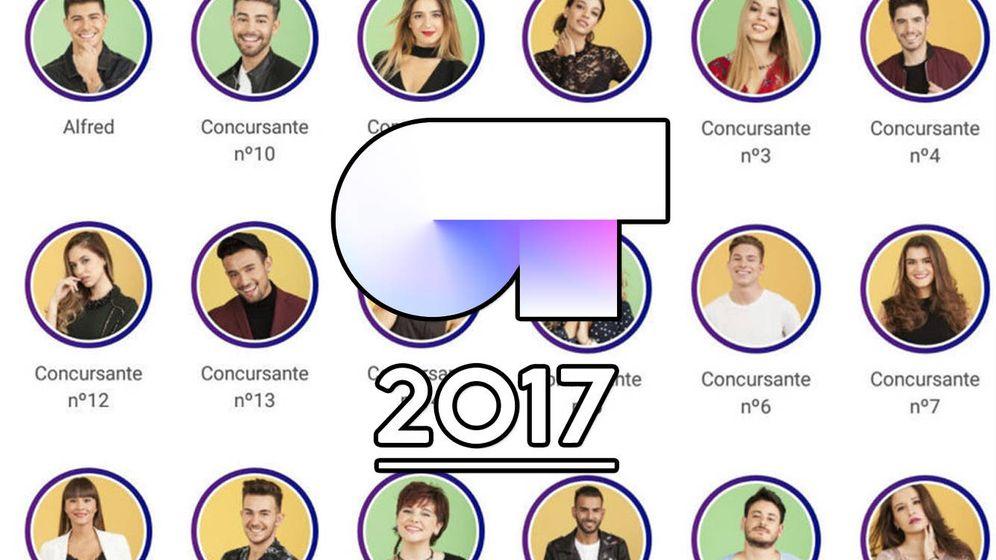 Foto: Los concursantes de 'OT 2017'. (RTVE)