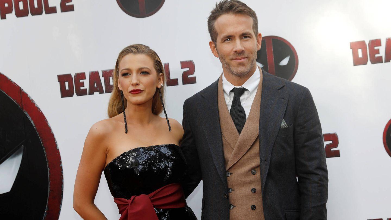 Ryan Reynolds y Blake Lively en la première de 'Deadpool 2'. (Gtres)