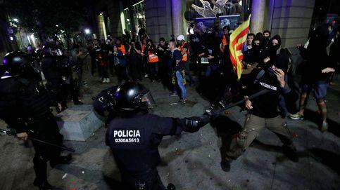Los disturbios volvieron a Barcelona este sábado en '3 largos minutos' de violencia
