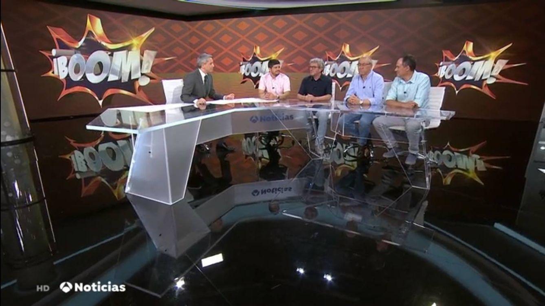Los Lobos, invitados de Vicente Vallés tras llevarse el bote millonario de '¡Boom!'