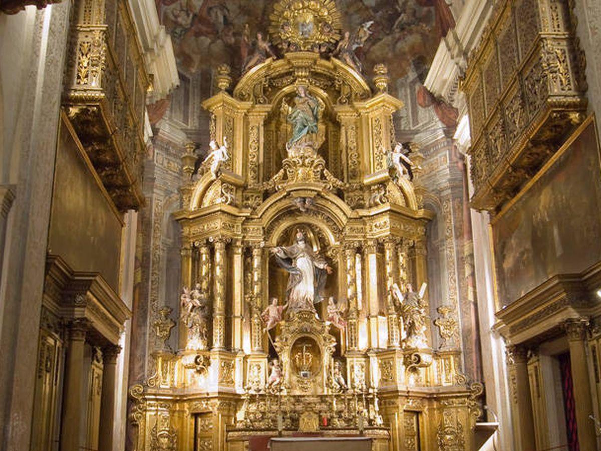 Foto: El retablo mayor de la Iglesia de San Severo (catedralbcn.org)