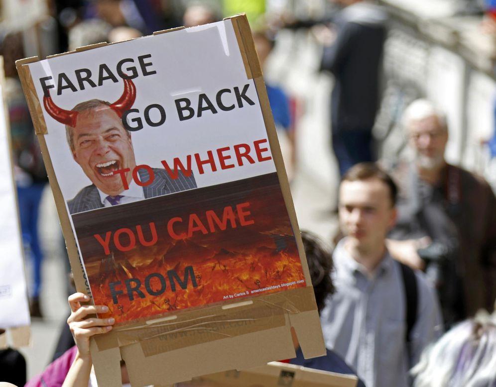 Foto: Protesta contra el Brexit en Londres, el 2 de julio de 2016. (Reuters)