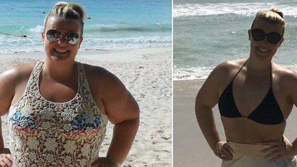 La mujer que ha perdido la mitad de su peso: así lo consiguió