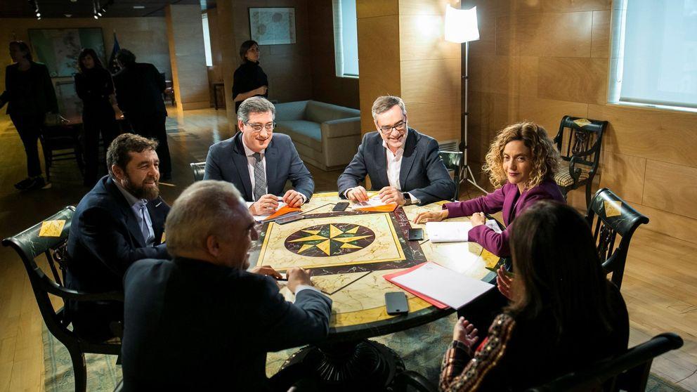 El PSOE cierra la puerta a la reforma electoral de Cs y Podemos