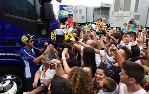 Los 'tifosi' de Rossi anotan el primer tanto: agotan las entradas más caras