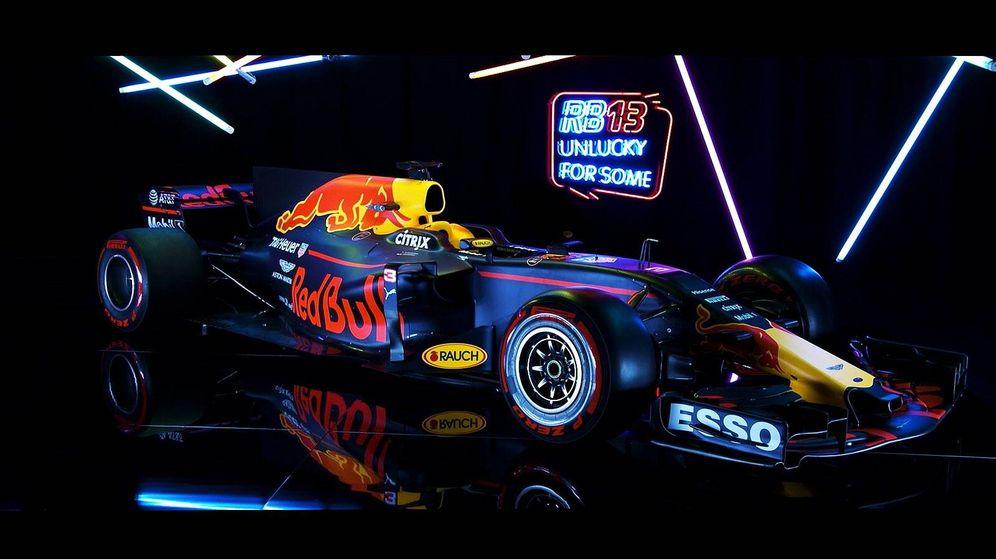 Foto: El nuevo Red Bull presentado este domingo, el RB13.