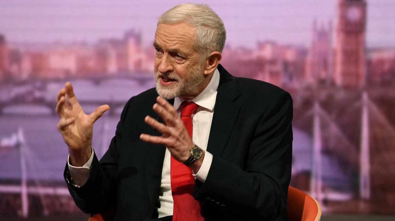 Jeremy Corbyn. (Reuters)