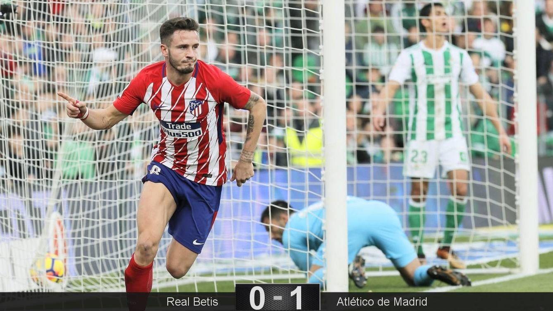 Simeone roba la cartera a Setién con un 25% de posesión en el Betis 0 - 1 Atlético