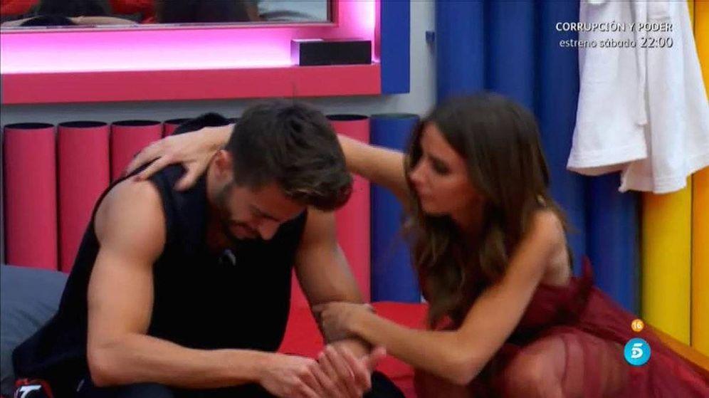 Foto: La relación entre Marco y Aylén hace aguas en 'GH VIP 5'