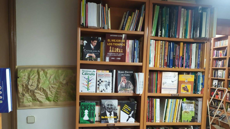 La librería Esteban Sanz. (RLC)