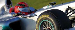 Michael Schumacher dominó la segunda jornada de entrenamientos en Jerez