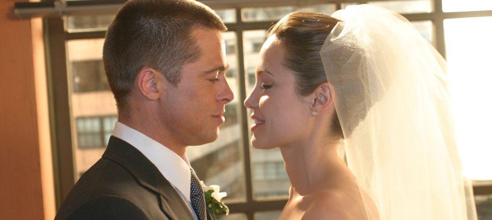 Foto: La relación de Angelina Jolie y Brad Pitt en imágenes
