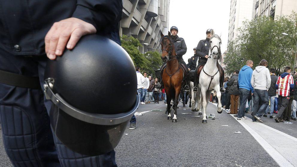 Mil agentes para vigilar el Atleti-Leicester por la llegada de cerca de 3.000 hooligans