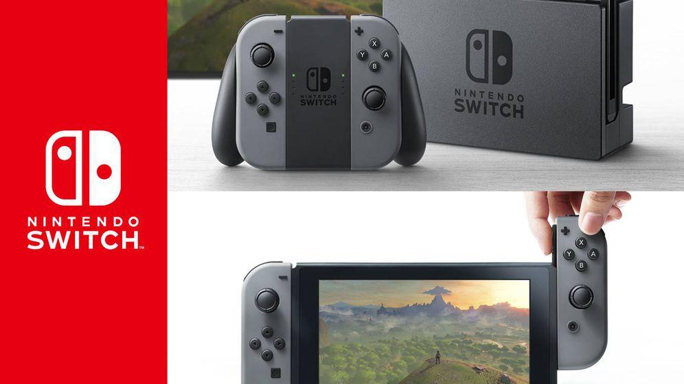 Foto: Nintendo Switch llegará en marzo de 2017. (Nintendo)