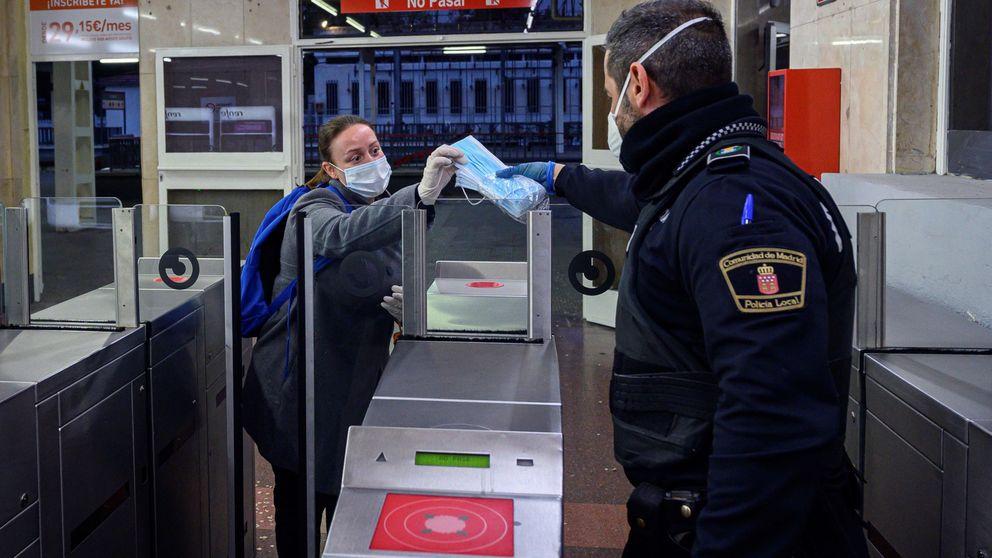 El Gobierno amplía el horario de entrega de mascarillas en Madrid con dos turnos más