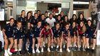 Visita sorpresa de Sergio Ramos a la concentración de la selección femenina