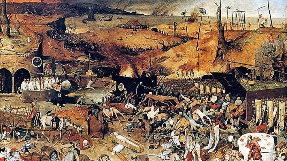 Foto: 'El triunfo de la muerte' de Pieter Brueghel.