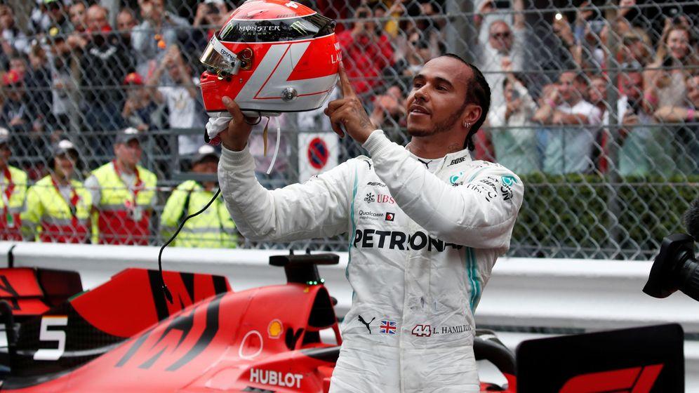 Foto: El Gran Premio de Mónaco de Fórmula 1 desde otro punto de vista